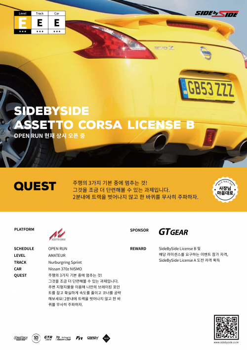 SideBySide License B_poster